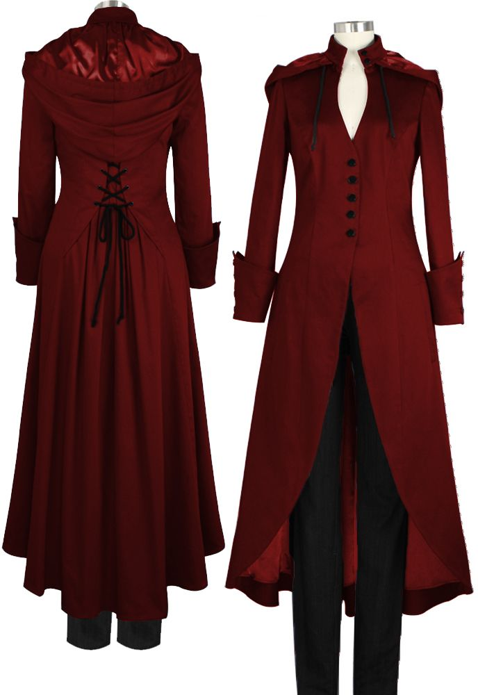 Long Victorian Coat By Amber Middaugh                              …