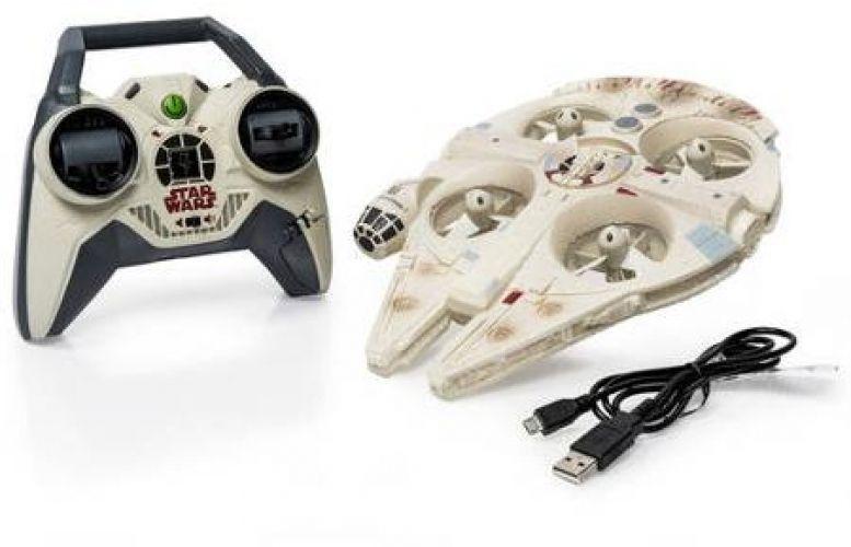Star Wars Quadcopter Drone Air Hogs Remote Control Ultimate Millennium Falcon