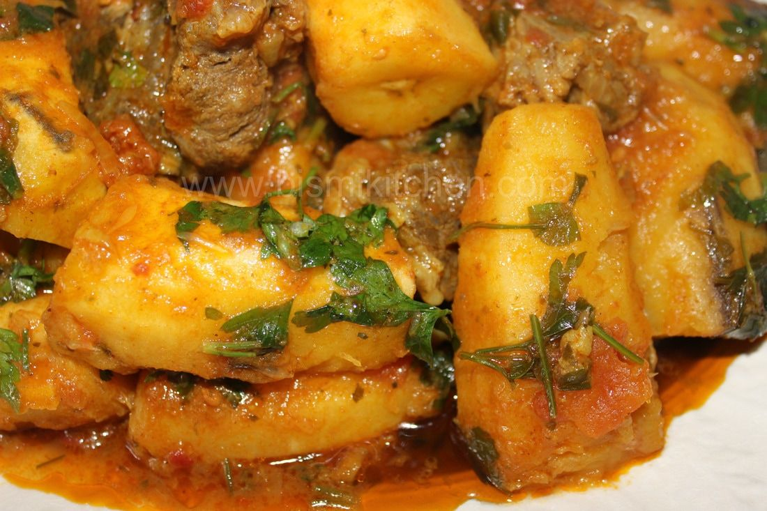 How to cook matoke in spiced tomato sauce bismillah