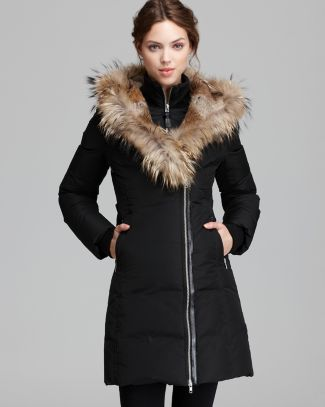 Mackage Down Coat - Trish Lavish Fur Trim Hood  Bloomingdale's