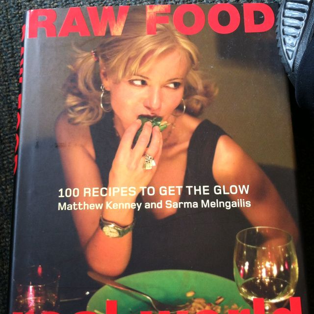 Amazing book which explains why raw is the way to go from a health perspective (although I only do about 50%) with descriptions of what to use,  how to use it and awesome recipes accompanied by beautiful photos...