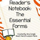 My Essential Forms are the perfect organizational tool for your young readers. These forms will help your students keep track of their reading thro...$