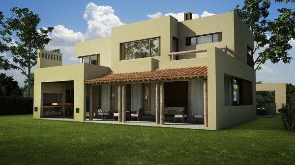 Fachadas casas centro pueblo verde pesquisa google for Fachadas de casas modernas en quito
