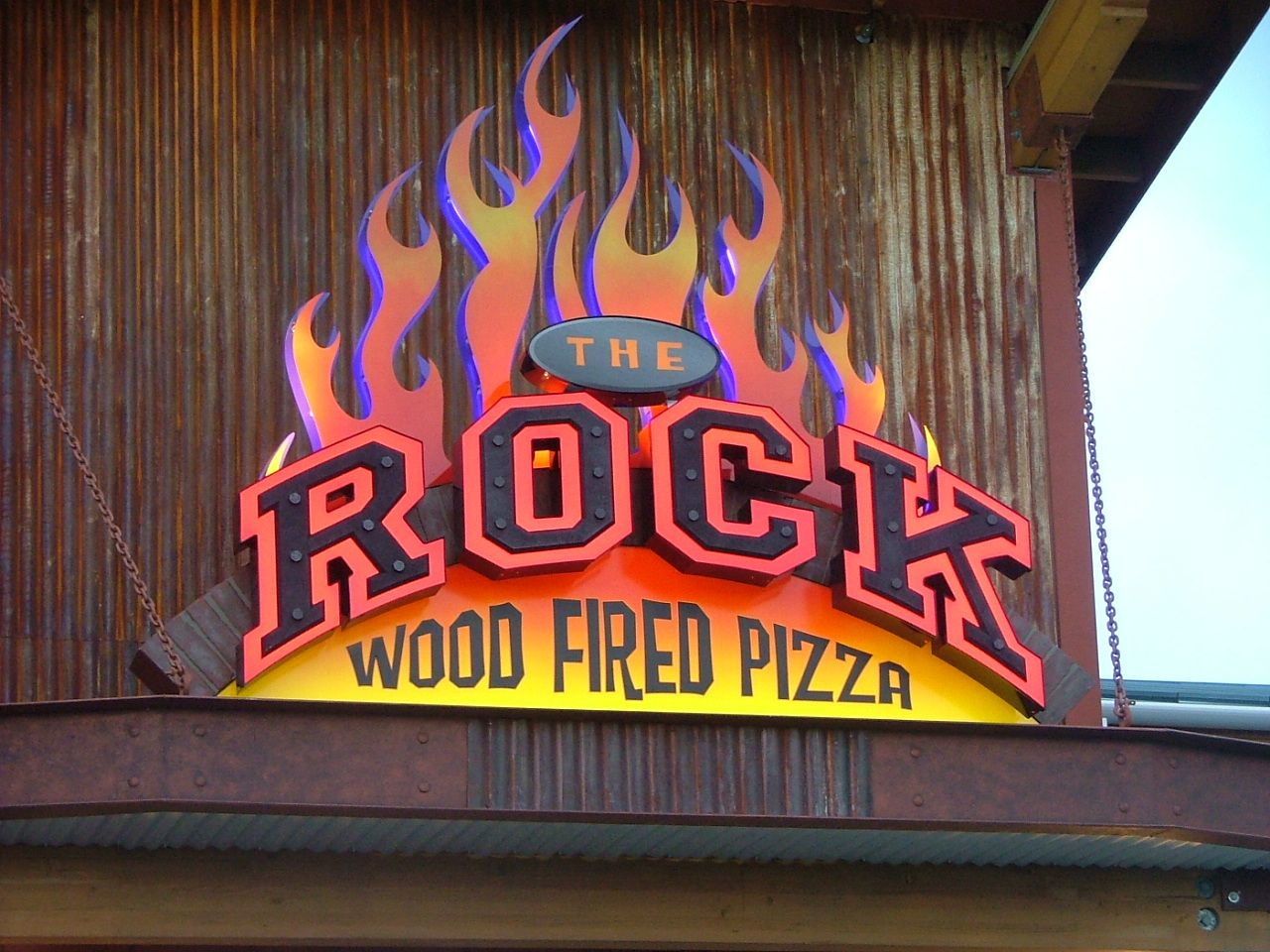 The Rock Wood Fired Pizza | Restaurant Design Concepts by I-5 Design