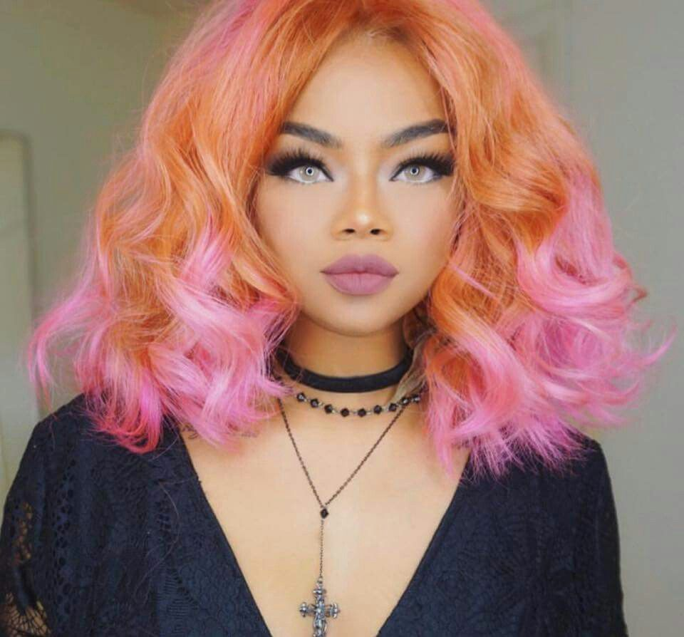 Hair Coloring Wigs For Black Womenlace
