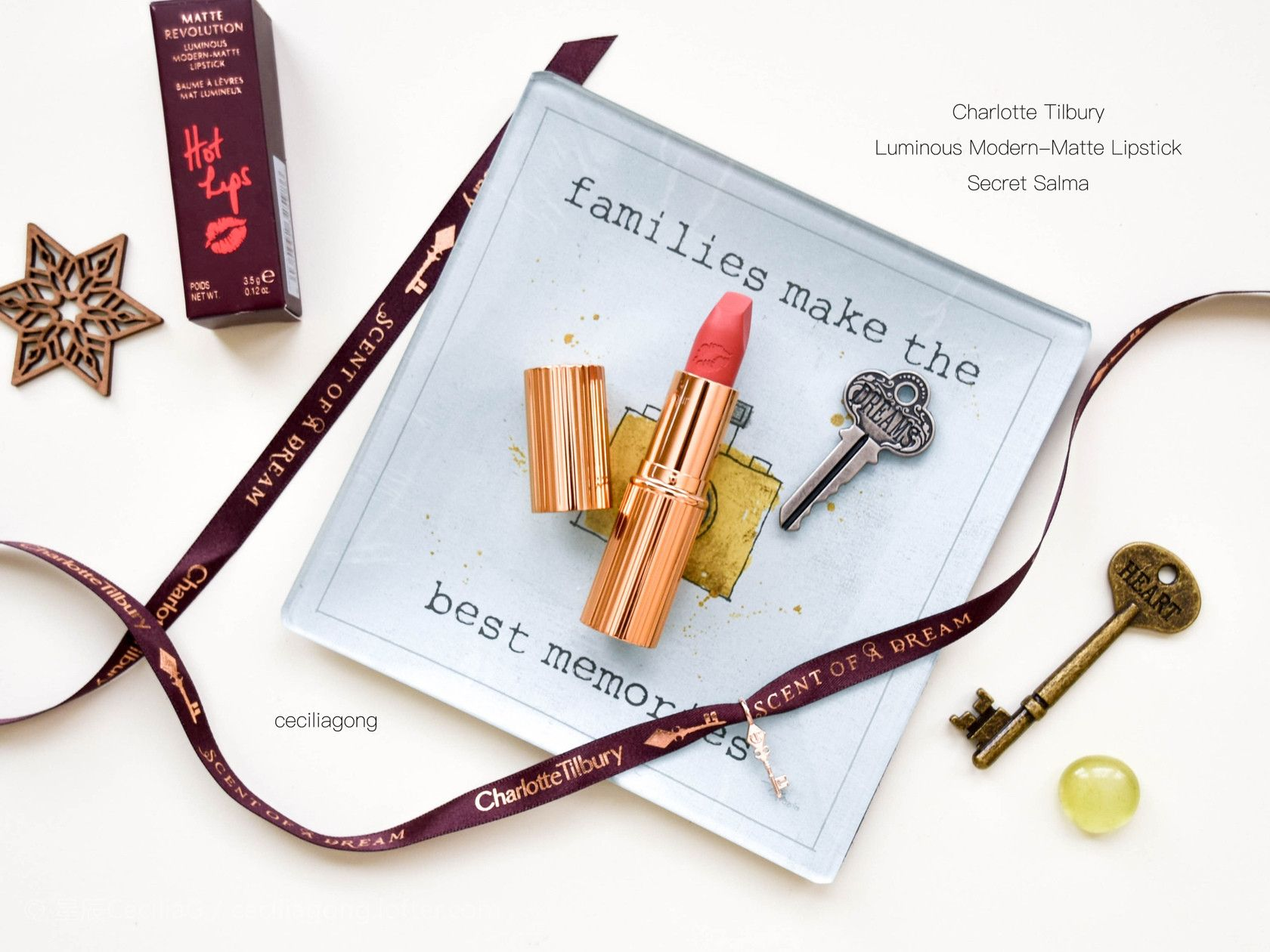 Charlotte Tilbury Hot Lips --SECRET SALMA