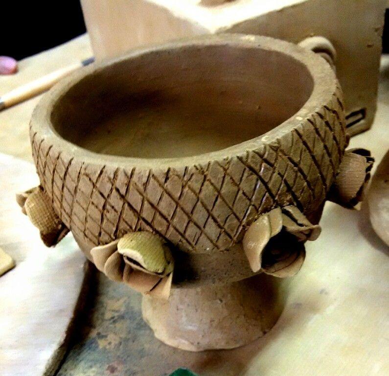 Ria L. Kriya, pottery 1, project 3. June 2015