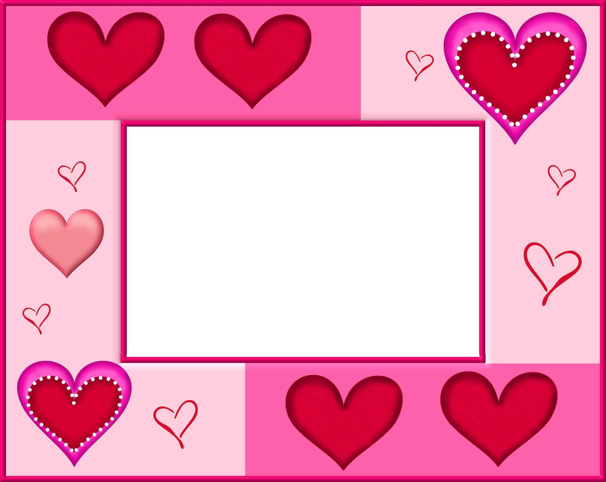 Pin By I T On Borders Frames Heart Valentines Day Border Free Valentine Clip Art Clip Art Freebies