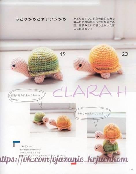 Tuto Crochet Tortues Tortue En Crochet Tuto Crochet