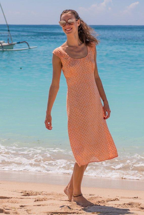 Summer Coral Dresses