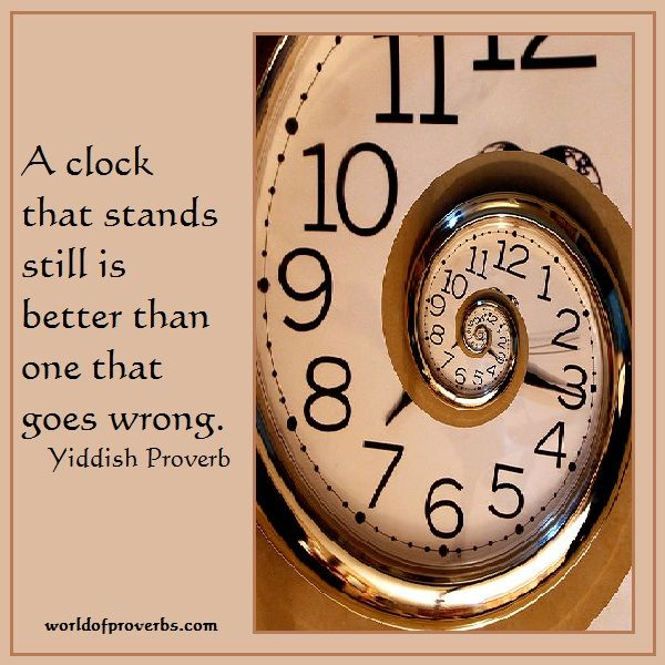 The Second Most Famous Clock In The World: Famous Quotes: A Clock That Stands