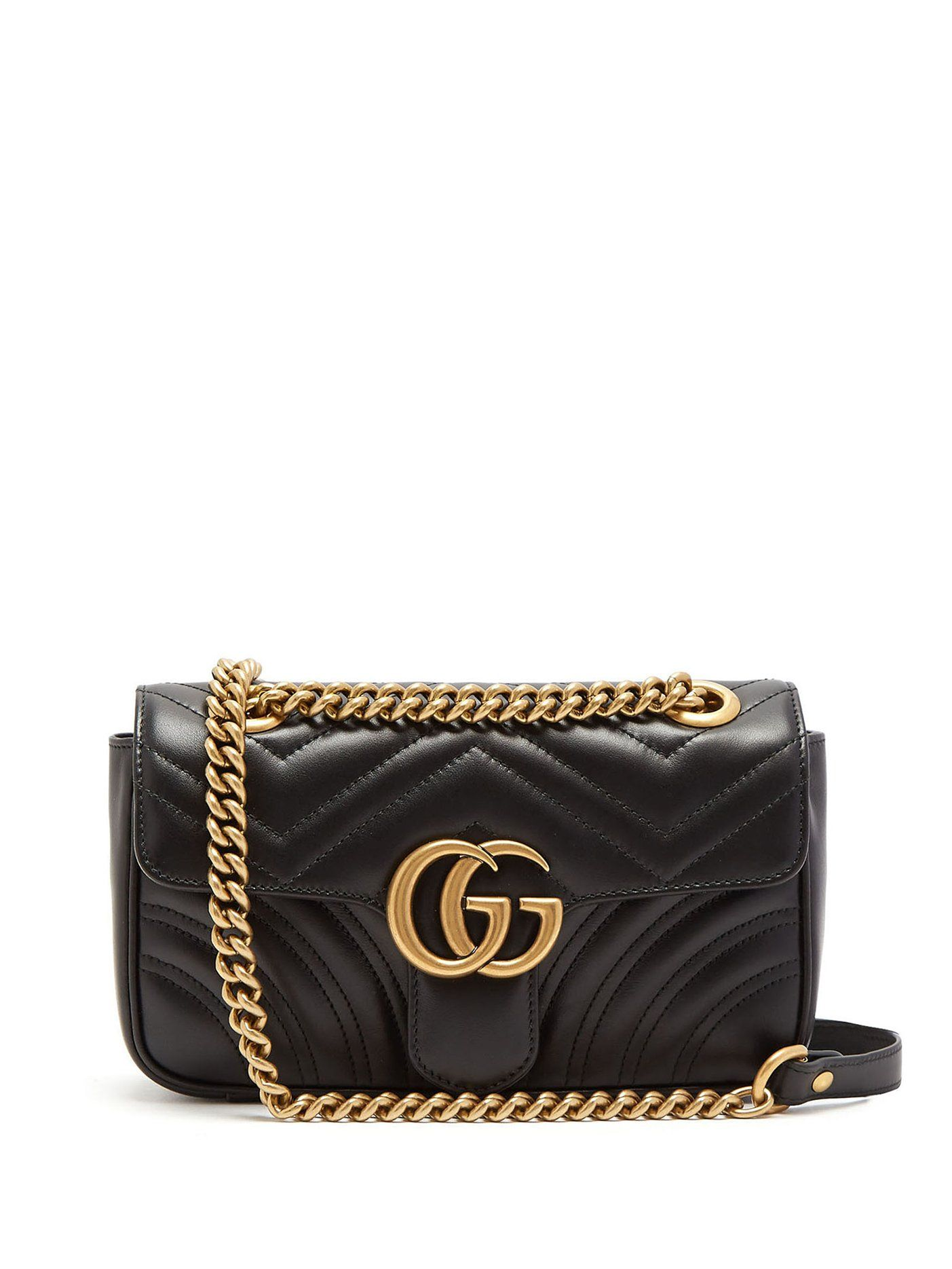 795595a07 GG Marmont small quilted-leather cross-body bag | Gucci |  MATCHESFASHION.COM US