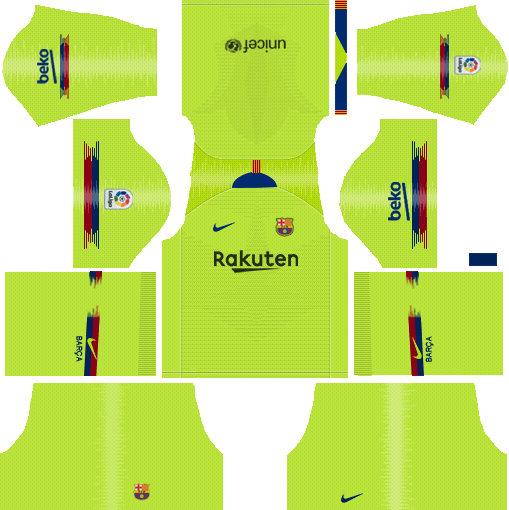 Barcelona DLS Kits 2018-2019 dream soccer league | APK WORLD