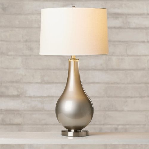 "Found it at Wayfair - Lowery 30.25"" H Table Lamp with Drum Shade"