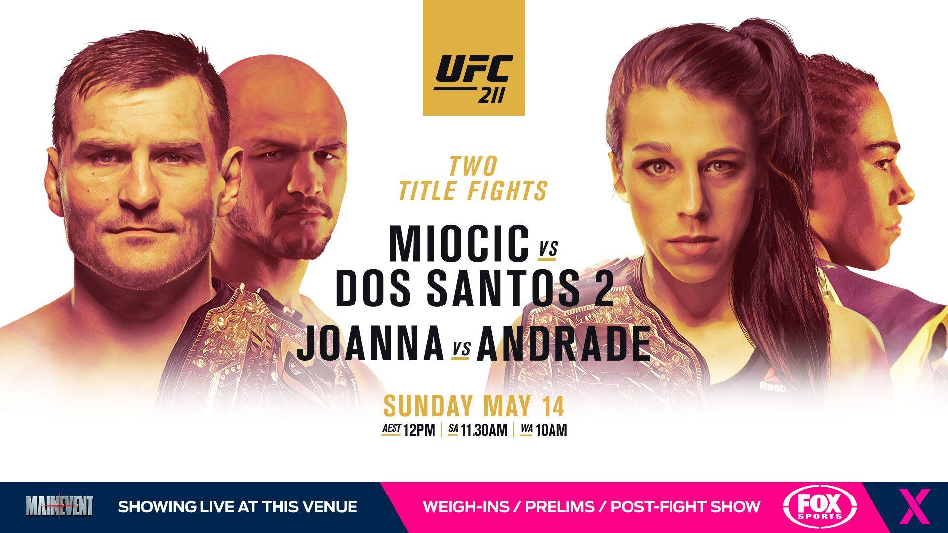 Wallpaper for UFC 211 Ufc live stream, Ufc live