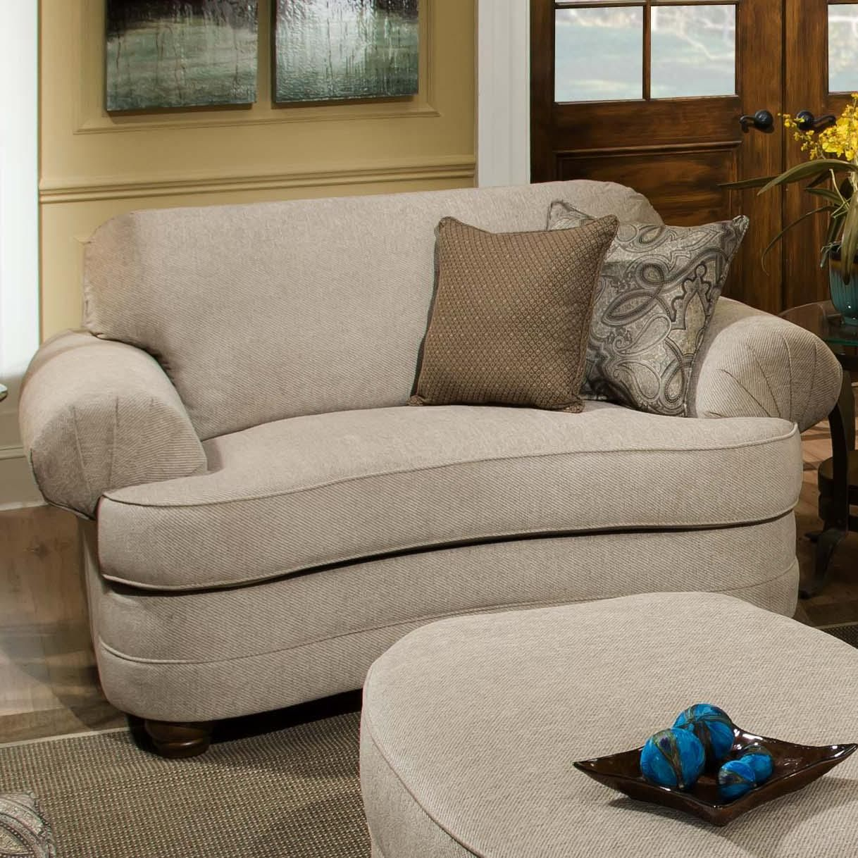 90250 Chair And A Half By Simmons Upholstery Typically A