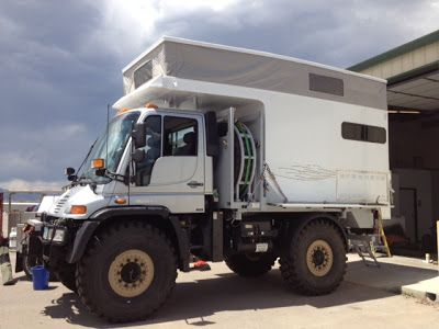 Truck Camper HQ Unimog Mercedes Of The Day Via Campa USA