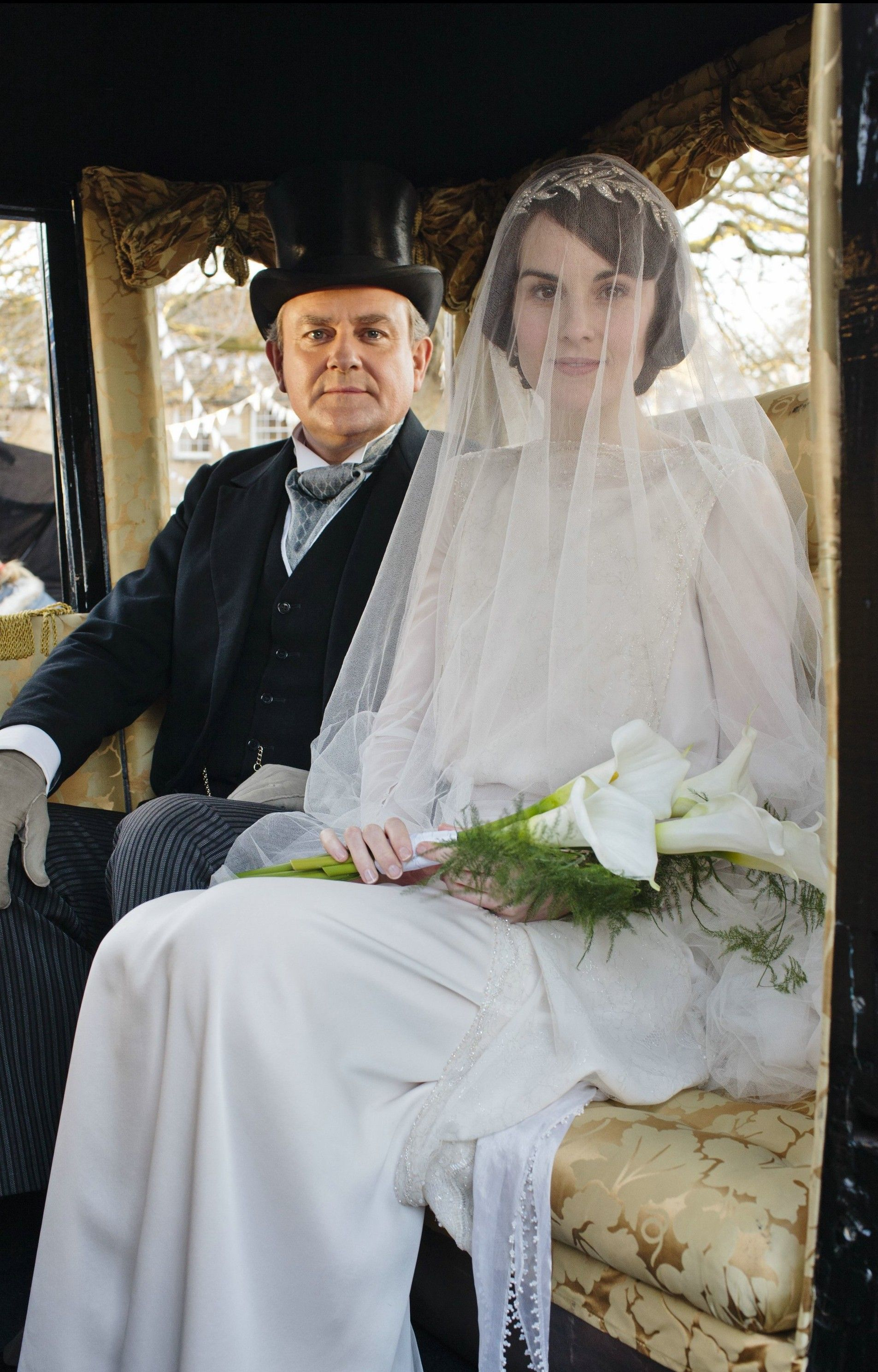Downton Abbey Series 3 Mary & Matthew\'s Wedding | Pinterest ...