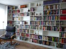 Bücherregal Wand weiß | for books için | Pinterest | Bücherregal ...