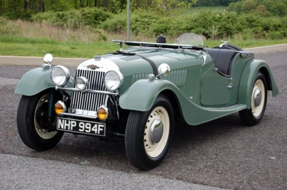 Bat Exclusive Lovely 1953 Morgan 4 Roadster British Classic Cars