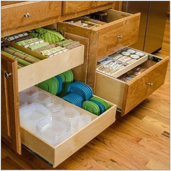 Kitchen Cabinet Cleaner: 39 Inexpensive Kitchen Storage Ideas For A Tidy Kitchen