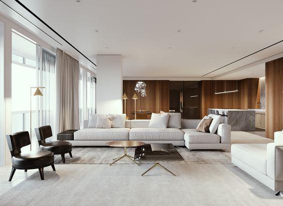 Idee per arredare un soggiorno moderno | Arredamento d\'interni ...