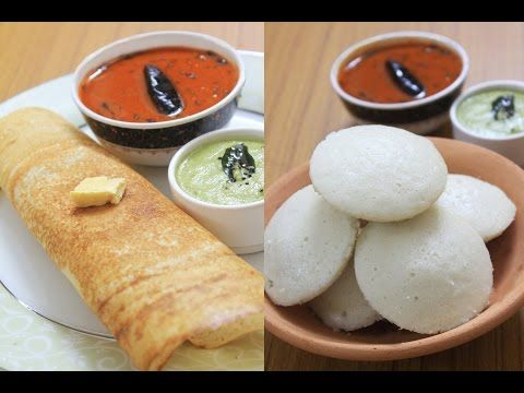 Idly and dosa | one batter for idly and dosa