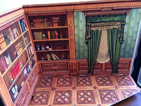Victorian Era Corner Library Room  Last Photo is the by Jewelmoon