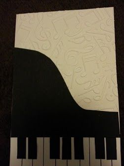 Piano And Music Themed Card For Many Occasions 21st Birthday Cards 21 Homemade