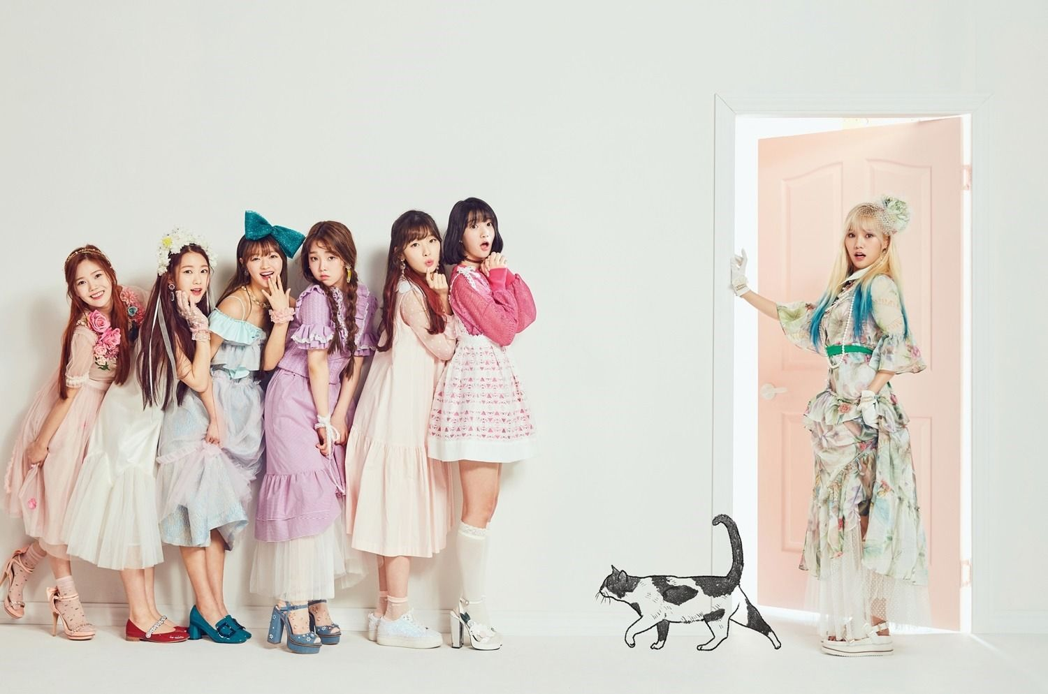 Oh My Girl Coloring Book W M