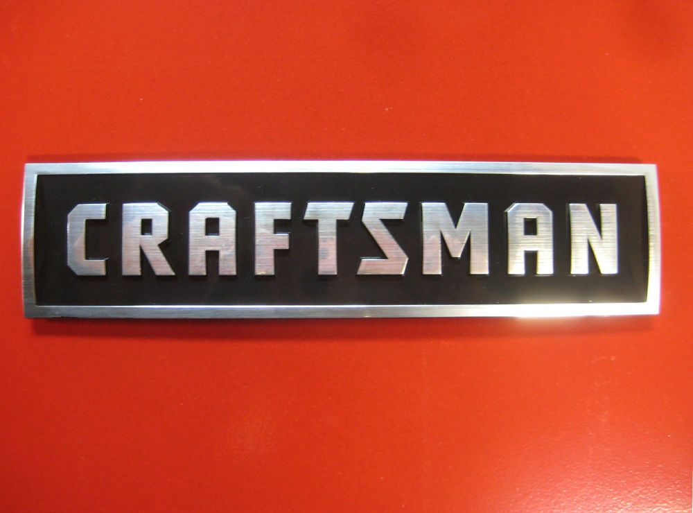 Craftsman tool box badge new style chest cabinet emblem decal sticker logo