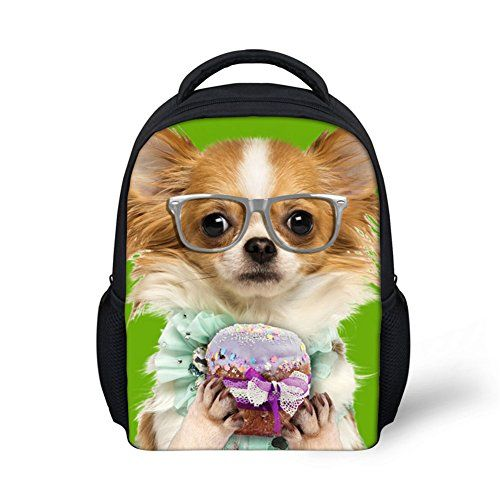 61408860873 HUGSIDEA Funny Pet Dog Papillon Printed Backpack Lightweight Cute Kids Baby  Bag    This is an Amazon Affiliate link. You can find out more details at  the ...