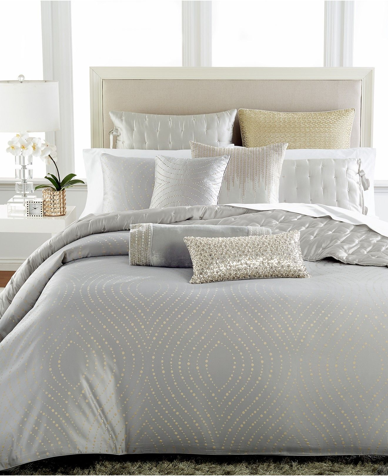 dedbc490d3472 Hotel Collection Finest Silver Leaf Bedding Collection - Bedding Collections  - Bed   Bath - Macy s