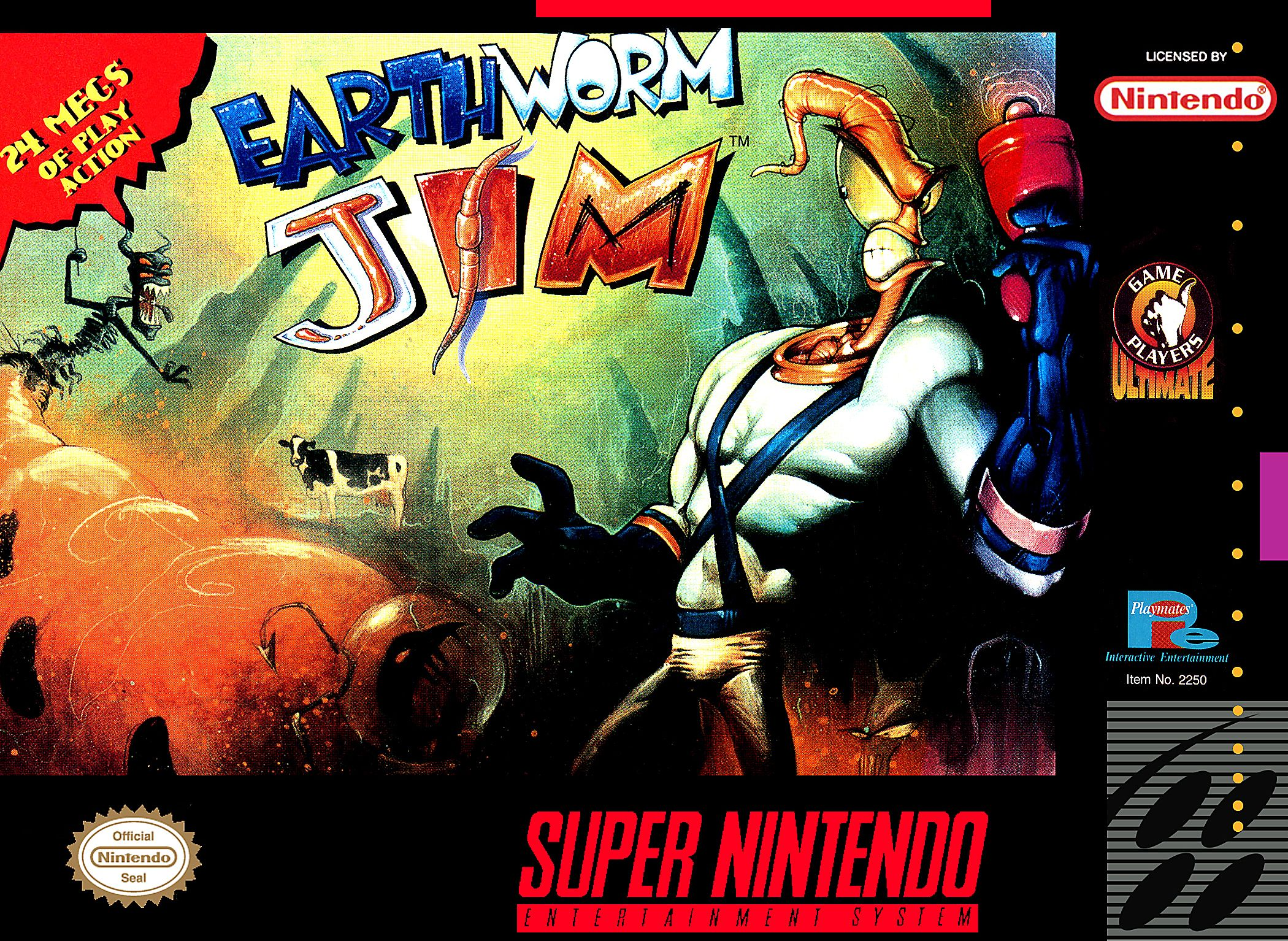 The Best Super Nintendo Games of All Time54  Earthworm Jim