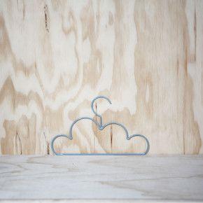 Cloud Coat Hanger Child Grey