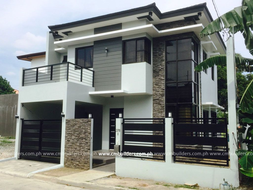 Modern zen 2 storey residence vermont royale antipolo for Modern houses in philippines