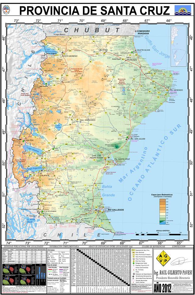 Mapa provincia de santa cruz patagonia argentina patagonia mapa provincia de santa cruz patagonia argentina gumiabroncs Image collections
