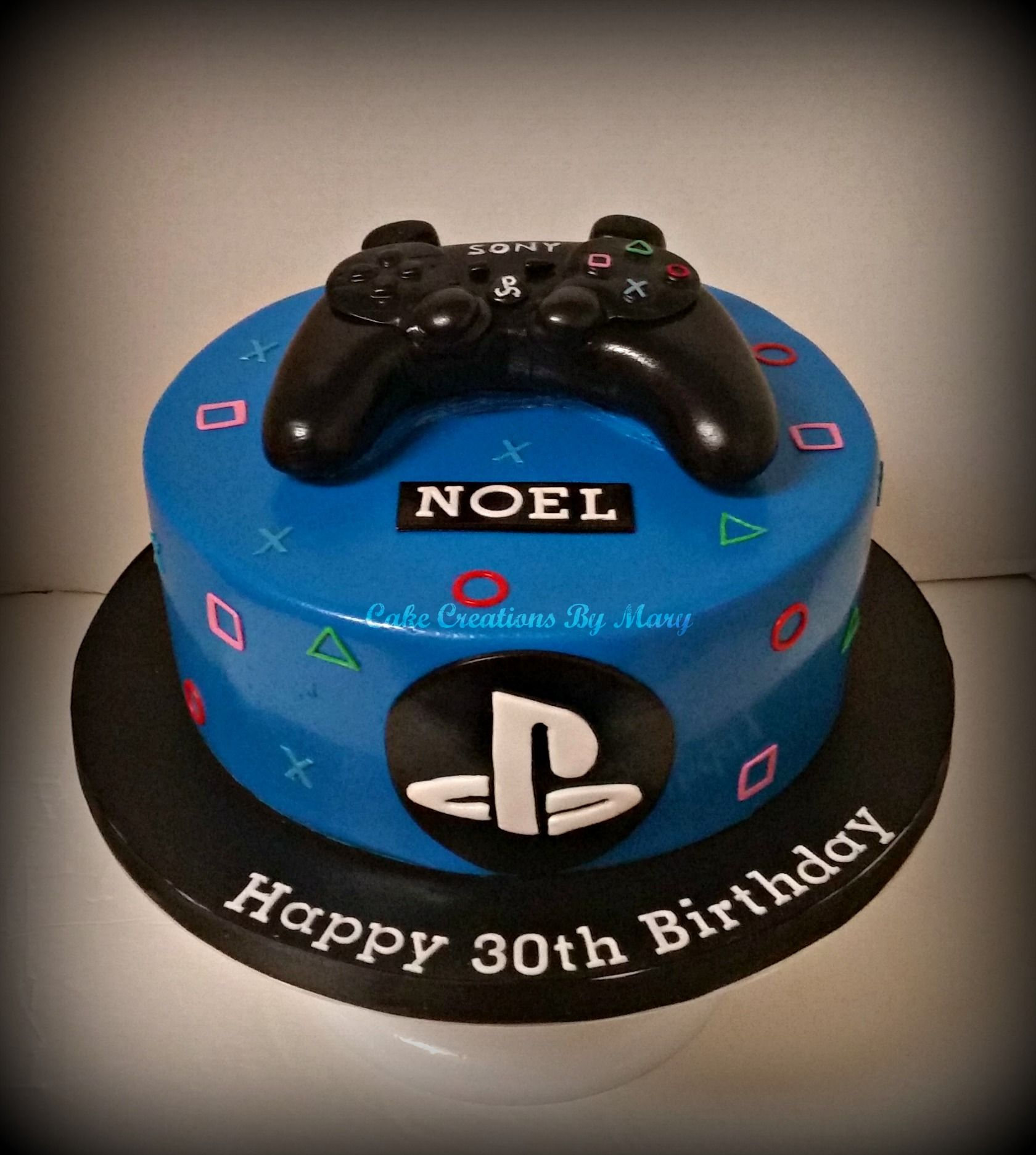Playstation Cake … Playstation cake, Cake, 4th birthday