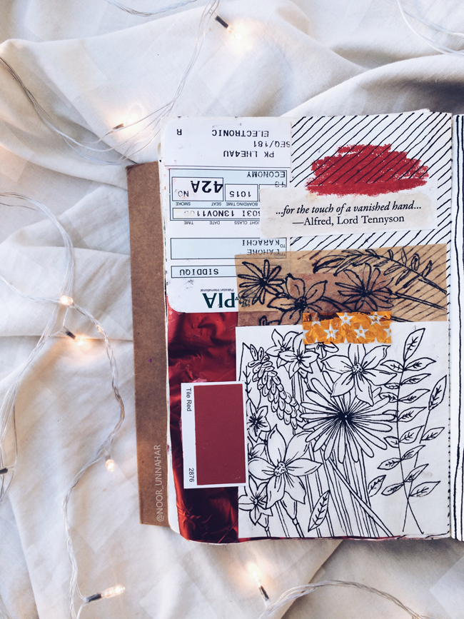 Art Journal Poetry For Suicide Prevention By Noor Unnahar Aesthetically Pleasing Tumblr Photos