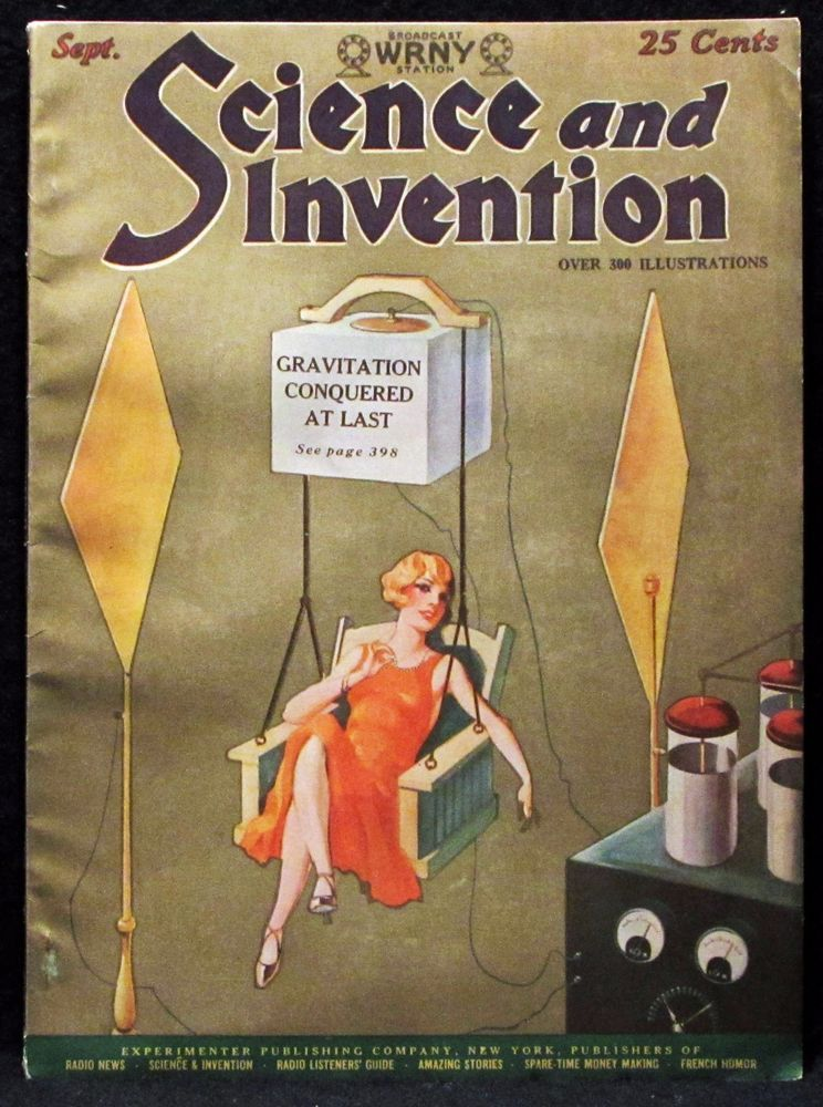 rare vintage science and invention magazine vol 15 no 5
