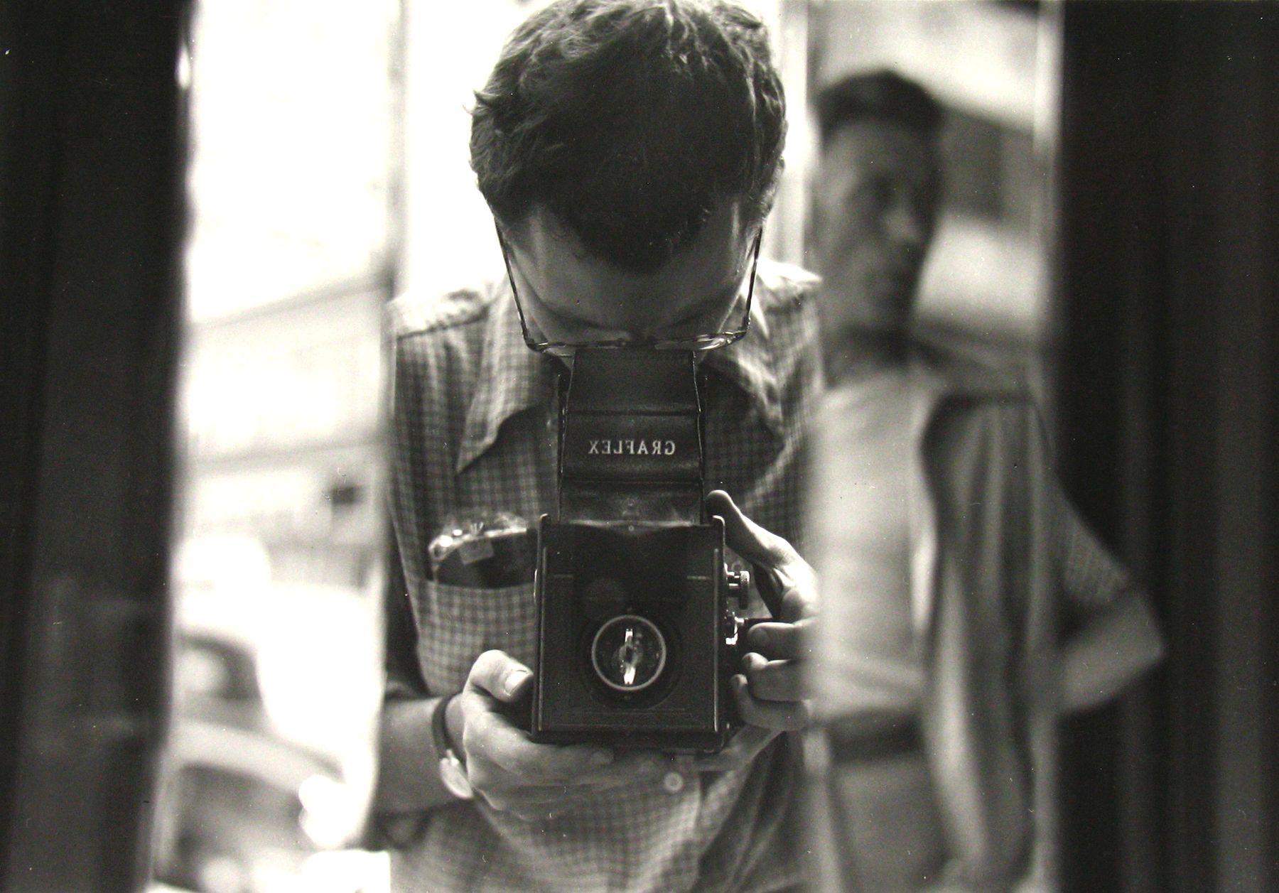 Saul Leiter (self portrait)