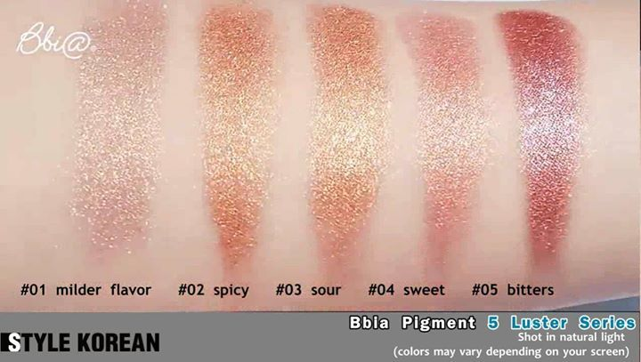 Watch those highly pigmented glitters!🎇  Wear these amazing Bbia Pigment series by clicking through to the link below😘👇 . 🌏 http://www.stylekorean.com/brands/185/bbia/10205040 . #bbia #glitter #pigment #glittermakeup #makeup #motd #mou #koreanmakeup #kbeauty #koreanmakeupbrand #kmakeup #asianmakeup #party #partymakeup #kstyle #ktrend #skincare #koreanskincare #makeupgeek #makeupaddict #makeupholic #makeupartist #stylekorean #stylekorean_global #fashion #style #clothing