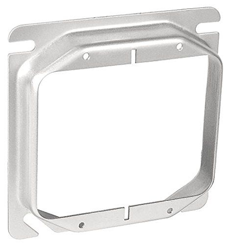 Stainless Steel 4 Inch Square 34 Inch Raised Two Gang Device Ring1 Per Case You Can Find Out More Details At The Link Gadget World Stainless Stainless Steel
