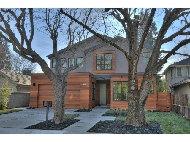 Orange Ave   Menlo Park, California   Modern style homes
