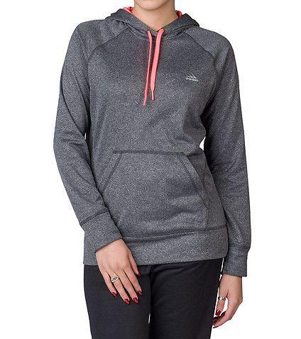 adidas WOMENS ULT PULLOVER HOODIE Grey