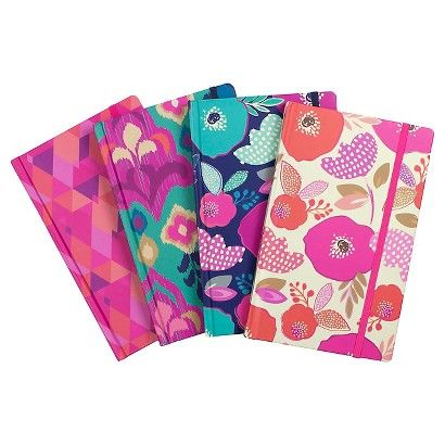 5.5x8 Patterns with Colored Edges Journal