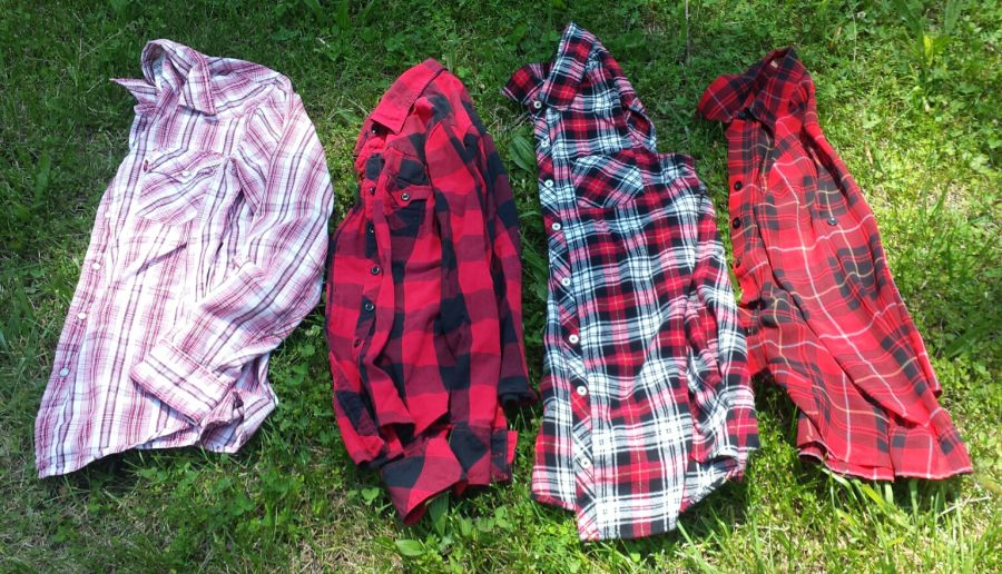Challenge 8 / Round 1 / Too Many Red Plaid Shirts?