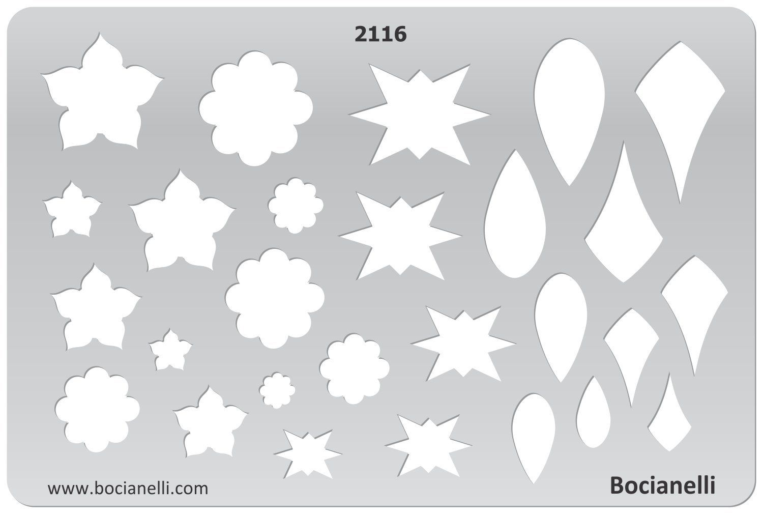 Amazon.com - Plastic Stencil Template for Graphical Design Drawing Drafting Metal Clay Jewellery Jewelry Making - Stars Tear Drops - Jewelry Making Tools