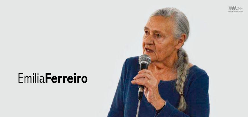 Emilia Ferreiro la educadora que revolucionó la lectoescritura, asegura que si los docentes no leen son incapaces de transmitir placer por la lectura.Dice que todos los chicos pueden aprender si los maestros se lo proponen    Para