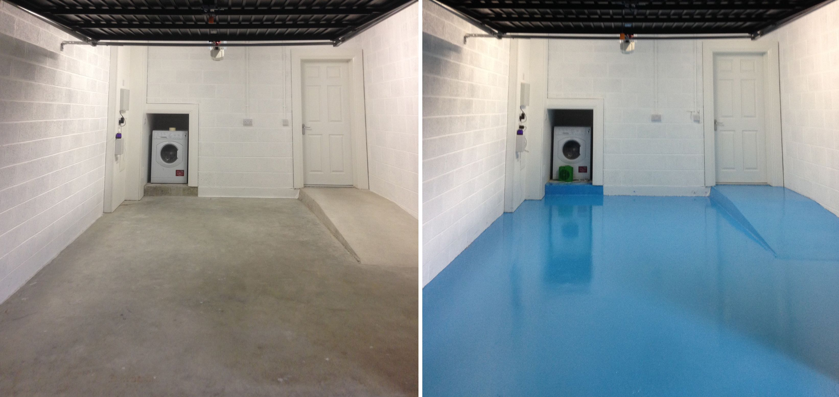 A Domestic Garage Floor Becomes Very